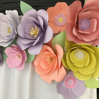 floral-tea-party-baby-shower-paper-flowers
