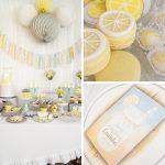 Lemon Sunshine Themed Party