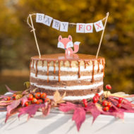 little-fox-fall-baby-shower-cake
