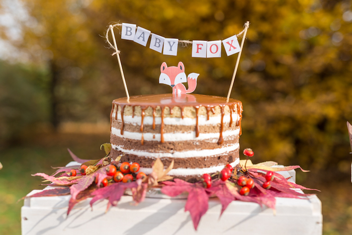 little-fox-fall-baby-shower-layered-cake