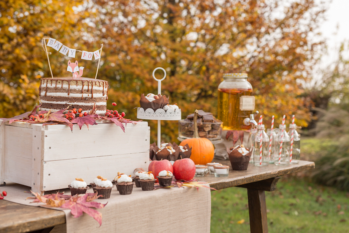 little-fox-fall-baby-shower-treat-table