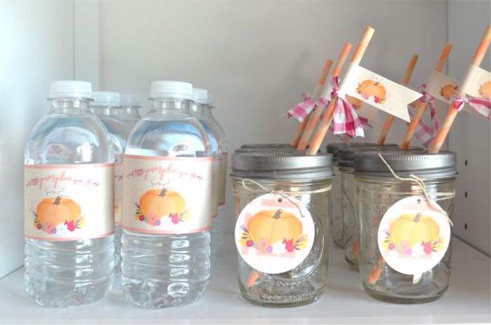 sweet-little-pumpkin-baby-shower-beverages
