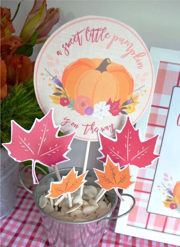 sweet-little-pumpkin-baby-shower-decorative-sticks