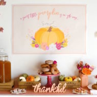 sweet-little-pumpkin-baby-shower-snack-table