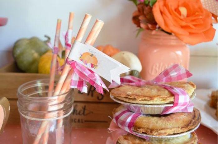 sweet-little-pumpkin-baby-shower-swirly-straws