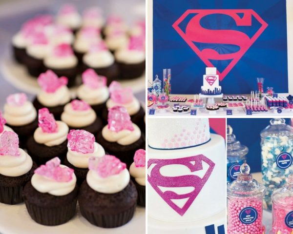 Supergirl Baby Shower Ideas Superman