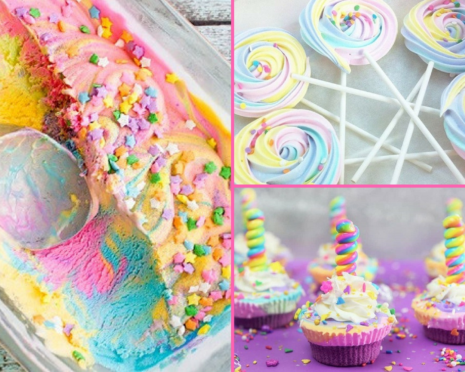 My Favorite Unicorn Party Treats Recipes Baby Shower