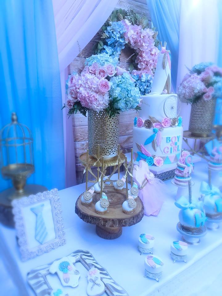 Boho Gender Reveal Party Baby Shower Ideas Themes Games