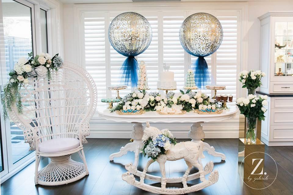 ... Elegant Boy Baby Shower Decoration ...