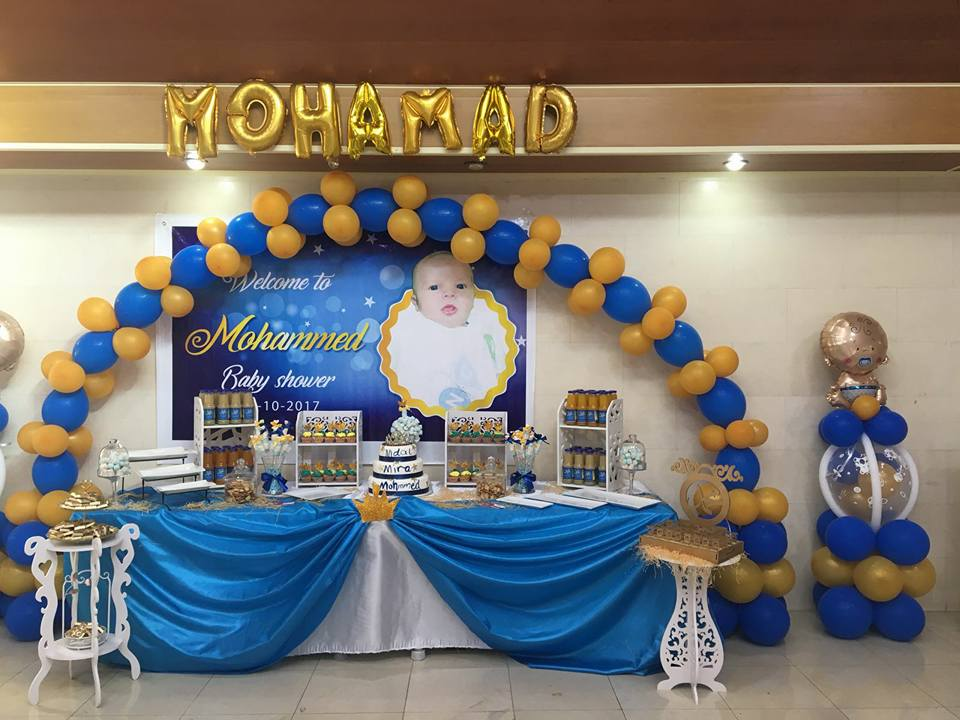 Gold Navy Royal Prince Baby Shower Ideas