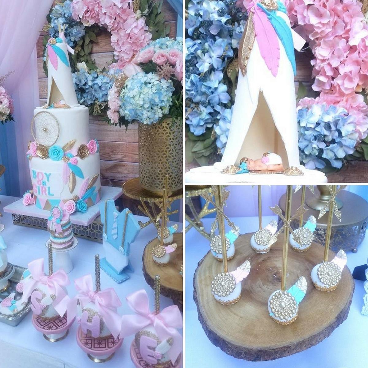 Favor Cake Kit Baby Shower