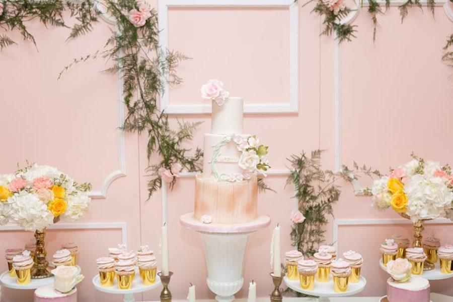 Charming Blush Garden Baby Shower Baby Shower Ideas