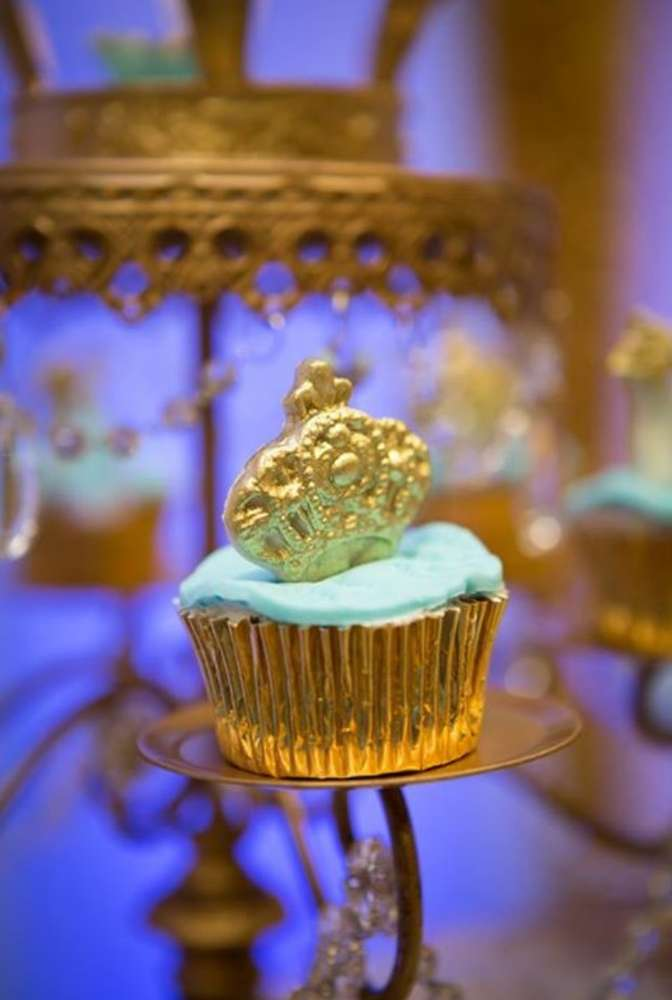 Gold And Blue Royal Baby Shower Baby Shower Ideas Themes Games