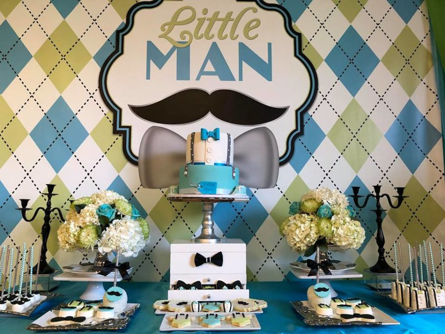 Sophisticated Little Man Baby Shower Baby Shower Ideas