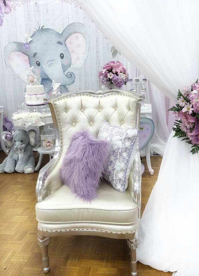 Springtime Elephant Baby Shower Baby Shower Ideas Themes Games
