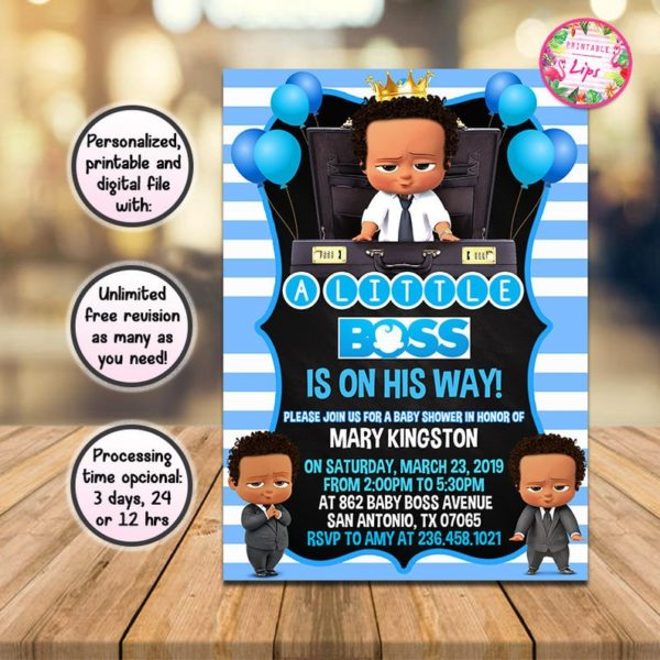 Birthday Party Game Ideas: Boss Baby (Baby Shower) Ideas