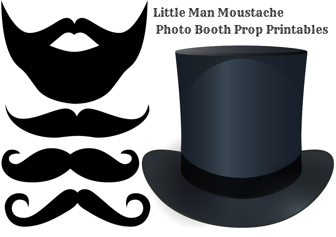 It is a photo of Dynamic Printable Photo Booth Props Templates