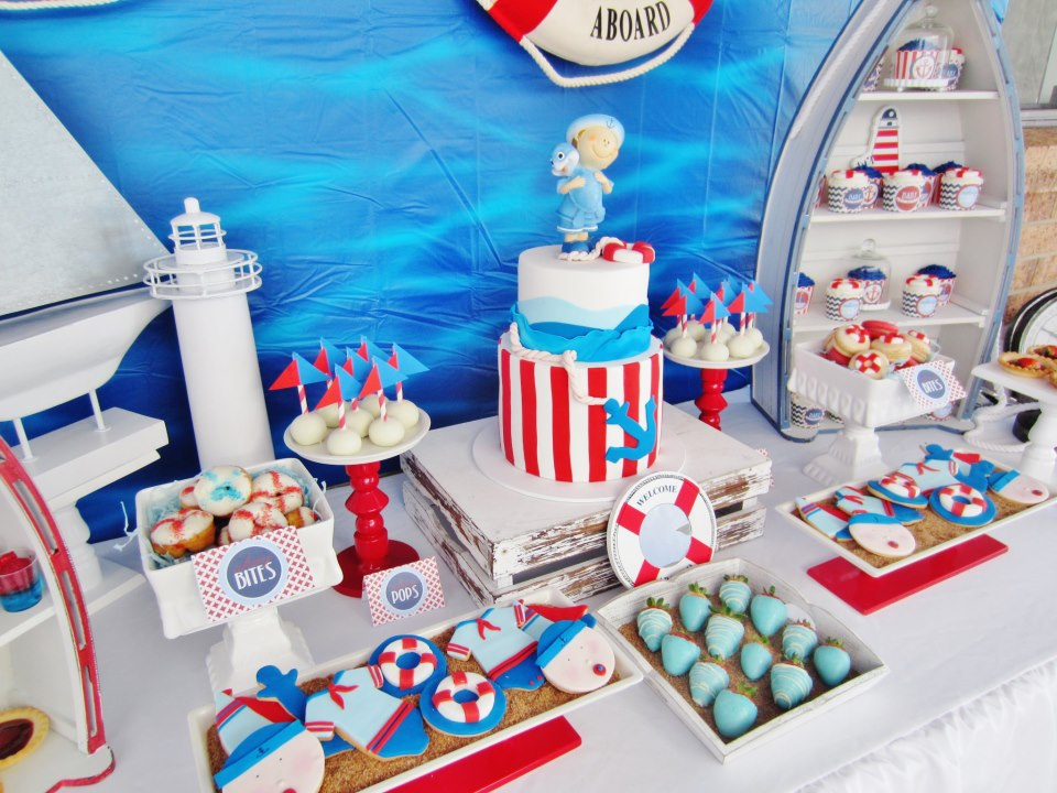 It's a Boy Nautical Baby Shower - Baby Shower Ideas ...