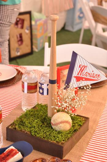 Vintage Style Baseball Baby Shower Baby Shower Ideas