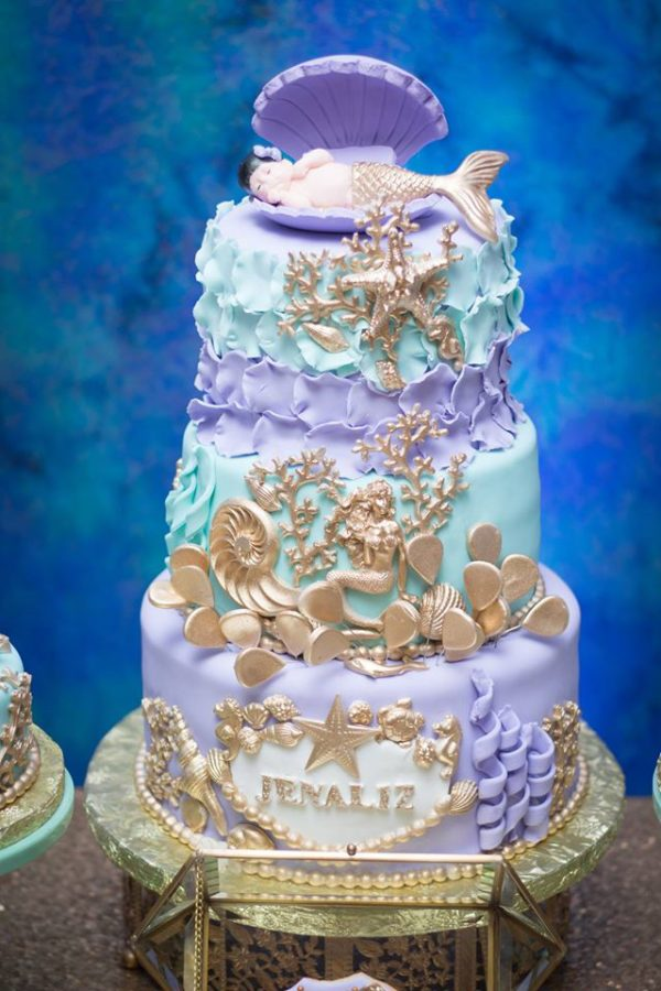 Blue Green Under The Sea Baby Shower Baby Shower Ideas
