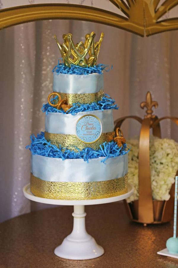 royal prince baby shower cake sheek royal prince baby shower baby shower ideas 7170