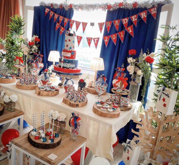 Patriotic 2017 Graduation Party Baby Shower Ideas