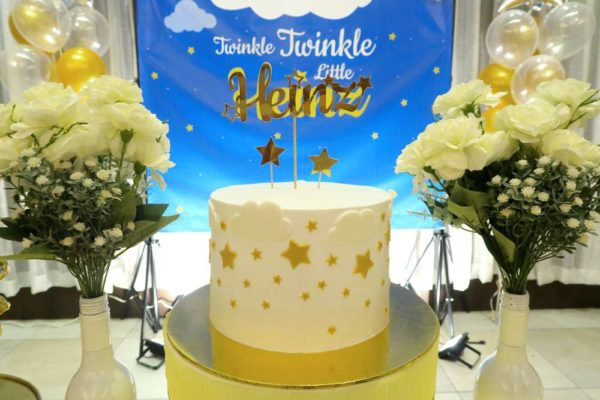 Twinkle Twinkle Little Star Golden Baby Shower Baby