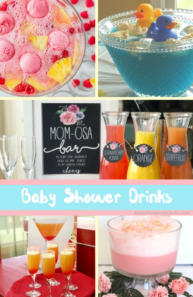 Baby Shower Drinks Punch Recipes Baby Shower Ideas