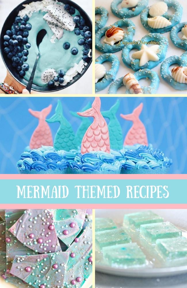 My Favorite Mermaid Themed Treat Amp Food Recipes