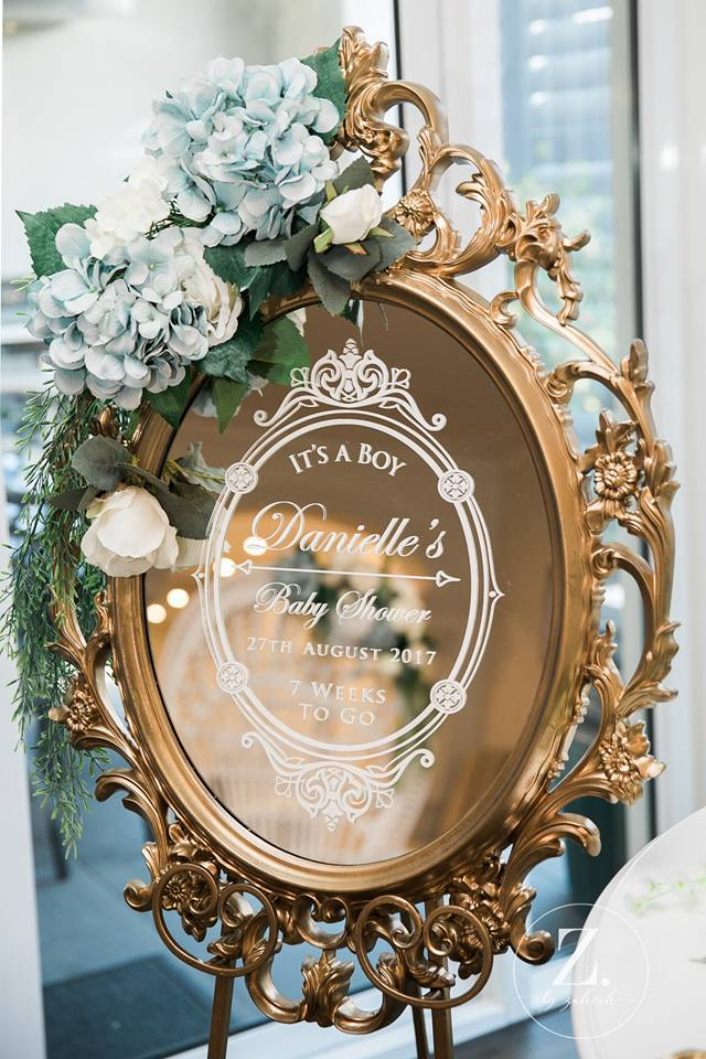 Elegant Blue And Gold Prince Baby Shower Baby Shower Ideas Themes Games