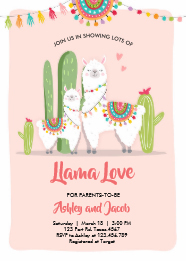 Llama Baby Shower Ideas Baby Shower Ideas Themes Games